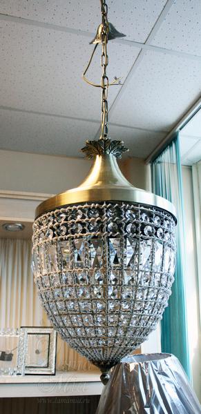 15-D6180-3 Светильник потолочный из хрусталя купить в интернет магазине lamamia.ru