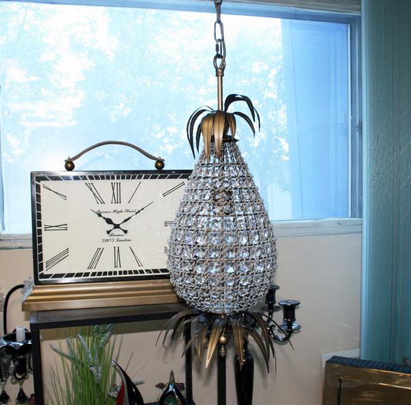 15-D6182-1 Светильник потолочный из хрусталя купить в интернет магазине lamamia.ru