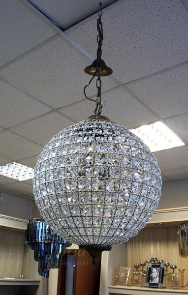 15-MD6069-3 Светильник из хрусталя в форме шара купить в интернет магазине lamamia.ru