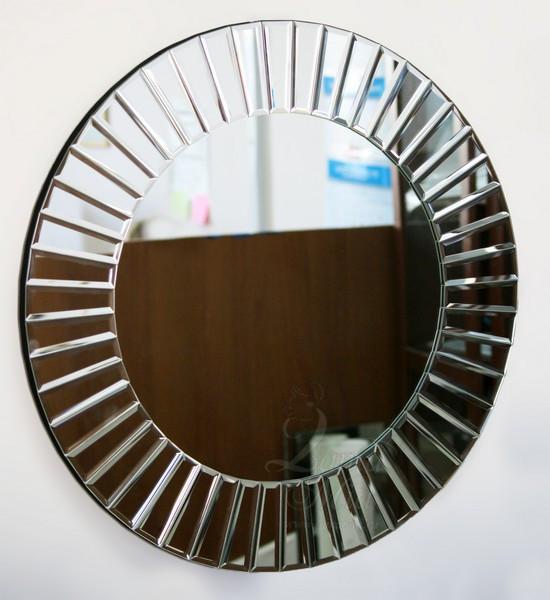 Круглое зеркало на стену 17-2023 купить в интернет магазине lamamia.ru с бесплатной доставкой по Москве