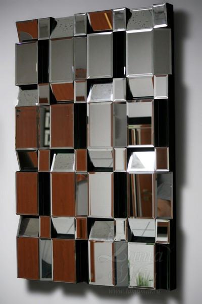 Зеркало настенное Квадраты 17-3008 купить в интернет магазине lamamia.ru с бесплатной доставкой по Москве