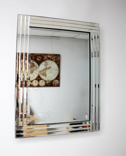 Прямоугольное зеркало на стену 17-8008 купить в интернет магазине lamamia.ru с бесплатной доставкой по Москве