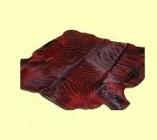 Шкура зебры красно-черная