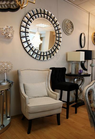 Кресло светло-серое с подушкой 24YJ-7070-07329 купить в интернет магазине lamamia.ru с бесплатной доставкой