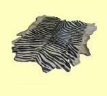 Шкура зебры серо-черная