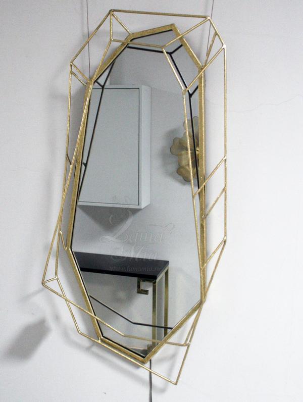 Зеркало декоративное фигурное 37SM-0421 купить в интернет магазине lamamia.ru
