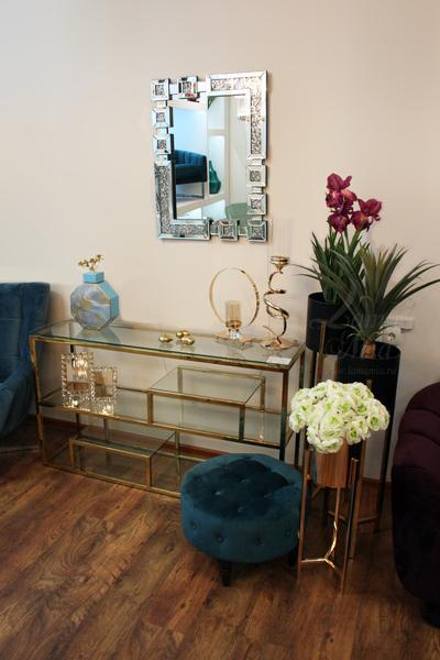 Зеркало настенное декоративное с кристаллами 50SX-6488  купить в интернет магазине lamamia.ru