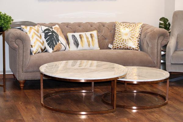Комплект мраморных столиков 57EL-CT101А купить в интернет магазине lamamia.ru, бесплатная доставка по Москве