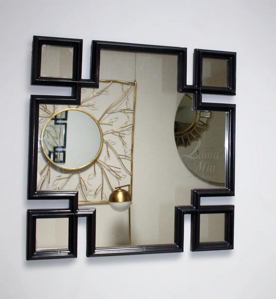 Зеркало квадратное декоративное 65-RZ27 купить в интернет магазине lamamia.ru