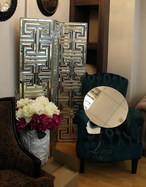 Ширма декоративная зеркальная KFC600 купить в интернет магазине lamamia.ru