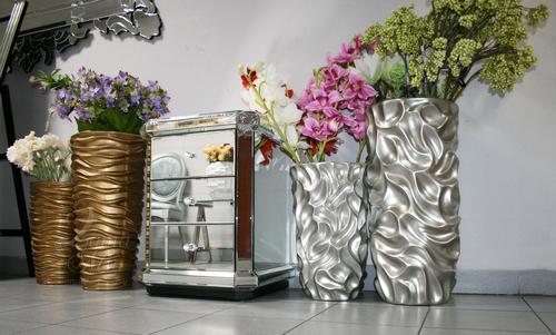 Тумба прикроватная зеркальная KFC882 купить в интернет магазине lamamia.ru