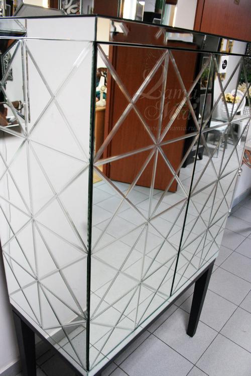 Шкаф барный зеркальный KFC892 купить в интернет магазине lamamia.ru