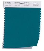 Оттенок Зелёный кетцаль PANTONE 18-5025 Quetzal Green
