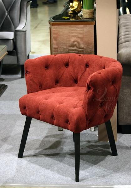 PJC388-PJ617 Кресло бордовый велюр купить в интернет магазине lamamia.ru с бесплатной доставкой