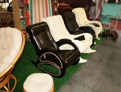 Кресла-качалки и кресла для отдыха из новой коллекции с выставки МММС 2014 можно купить в интернет магазине lamamia.ru