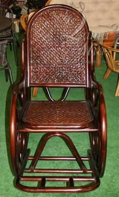 Кресло-качалка Москва артикул 004.088 из ротанговой лозы купить в интернет-магазине lamamia.ru