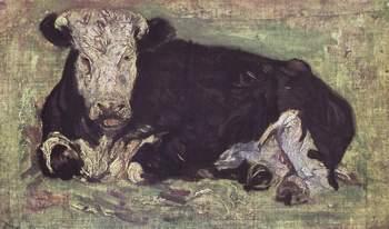 """Винсент Вильям Ван Гог, """"Лежащая корова"""""""