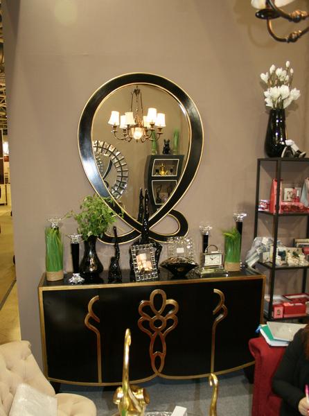 Зеркало ART-4441-FM и комод ART-4441-S в интернет магазине lamamia.ru