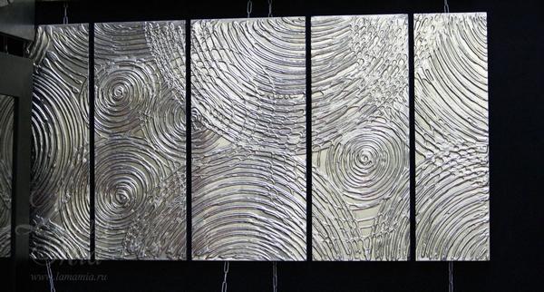 Купить настенное панно Солнечный дождь в интернет магазине lamamia.ru