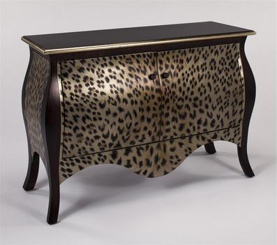 Комод с леопардовым раскрасом купить в интернет-магазине lamamia.ru