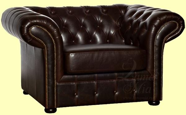 Кресло, изготовленное на заказ, в стиле Честерфилд в интернет-магазине lamamia.ru