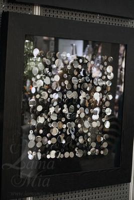 Панно настенное Монеты - квадрат купить в интернет магазине lamamia.ru за 22000 рублей