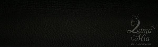 Образец кожаной чёрной обивки кресла для отдыха Маэстро и кресел-качалок Маэстро (модели 9-Д, 9-К, 41, 013.0042, 013.0041, 013.009)