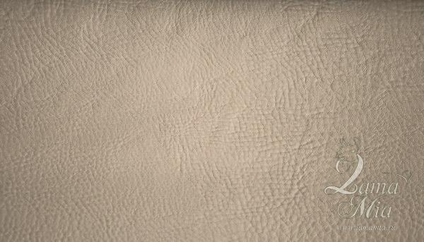 Образец кожаной светло-бежевой обивки кресла для отдыха Маэстро и кресел-качалок Маэстро (модели 9-Д, 9-К, 41, 013.0042, 013.0041, 013.009)