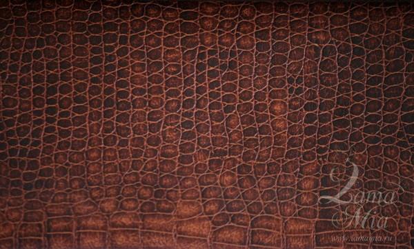 Образец крокодиловой кожаной обивки кресла для отдыха Маэстро и кресел-качалок Маэстро (модели 9-Д, 9-К, 41, 013.0042, 013.0041, 013.009)