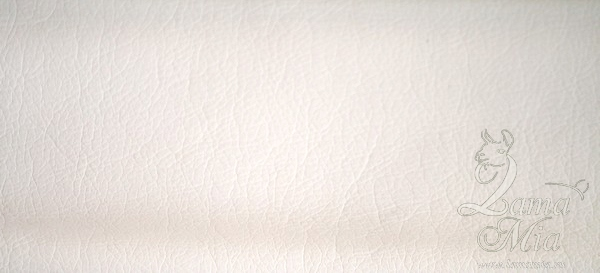 Образец белой кожаной обивки кресла для отдыха Маэстро и кресел-качалок Маэстро (модели 9-Д, 9-К, 41, 013.0042, 013.0041, 013.009)
