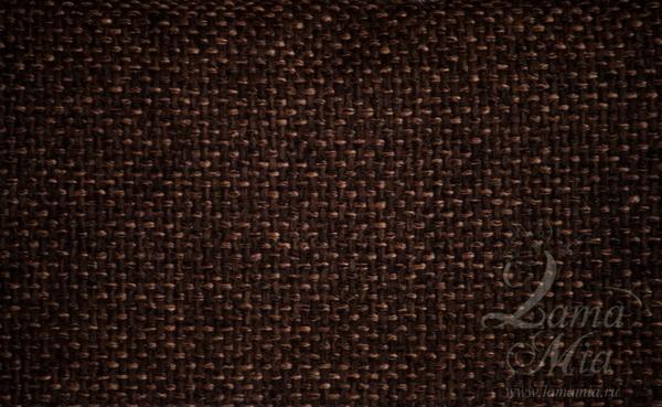 Образец тканевой обивки тёмно-коричневая грубая кресла для отдыха Маэстро и кресел-качалок Маэстро (модели 9-Д, 9-К, 41, 013.0042, 013.0041, 013.009)