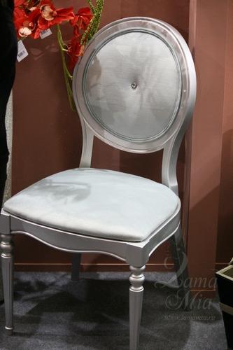 Серый стул AJ102-LE27 Купить стул в интернет магазине Lamamia.ru из новой коллекции польских дизайнерских стульев можно будет  в марте 2015 года