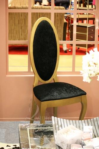 Жёлтый стул с чёрной обивкой. Купить стул в интернет магазине Lamamia.ru из новой коллекции польских дизайнерских стульев можно будет  в марте 2015 года