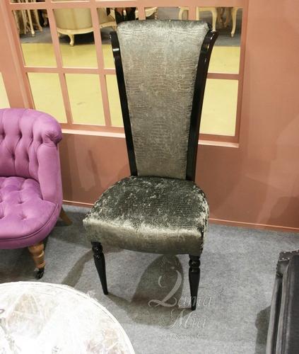 Стул со змеиной кожей AJ101-LE4. Купить стул в интернет магазине Lamamia.ru из новой коллекции польских дизайнерских стульев можно будет  в марте 2015 года