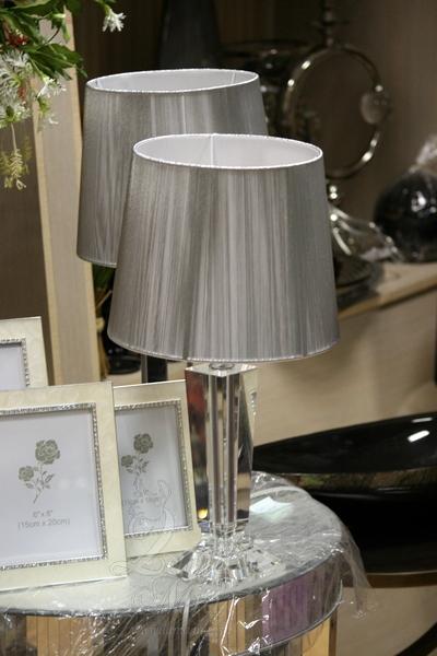 Настольная хрустальная лампа X18505 купить в интернет магазине lamamia.ru с бесплатной доставкой по Москве