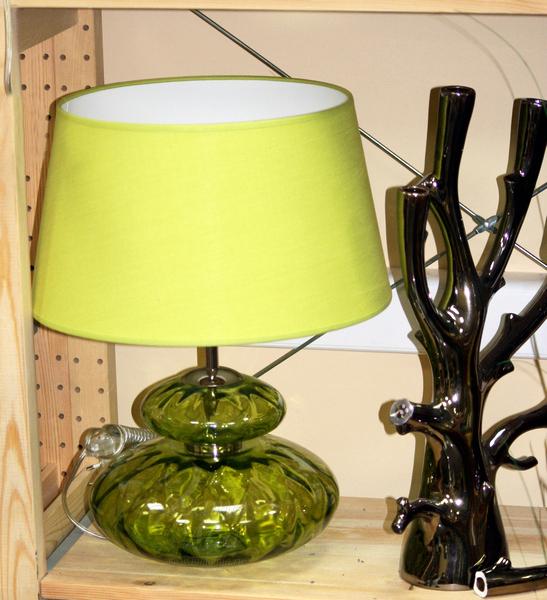 P3235/Green лампа настольная из португальского стекла купить в интернет магазине lamamia.ru