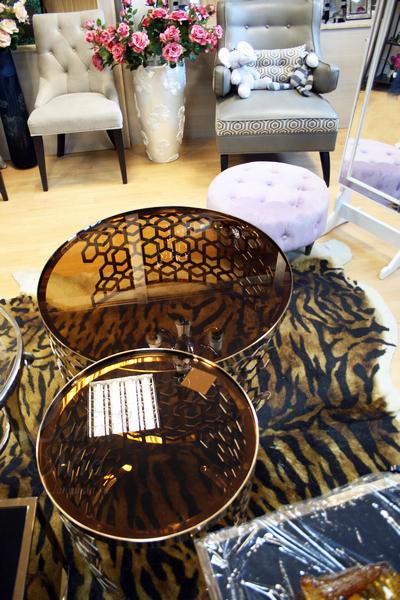 Журнальные столики 13RXCT8012-GOLD и 13RXET8011-GOLD в интернет магазине lamamia.ru, телефон +7(495)795-13-72
