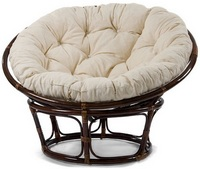Кресла садовые из лозы и ротанга